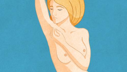 Brust abtasten 4