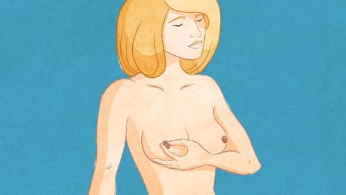 Brust abtasten 5