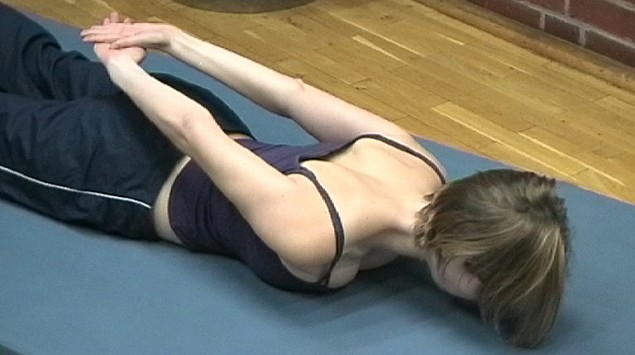 Rückenschule Übung 10