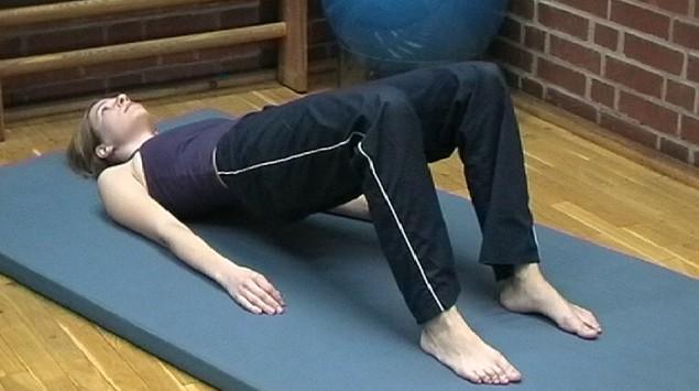 Rückenschule Übung 4